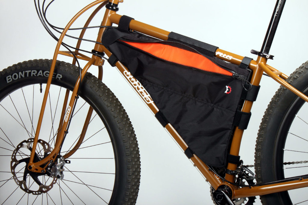 Non drive side of the new Plus frame pack