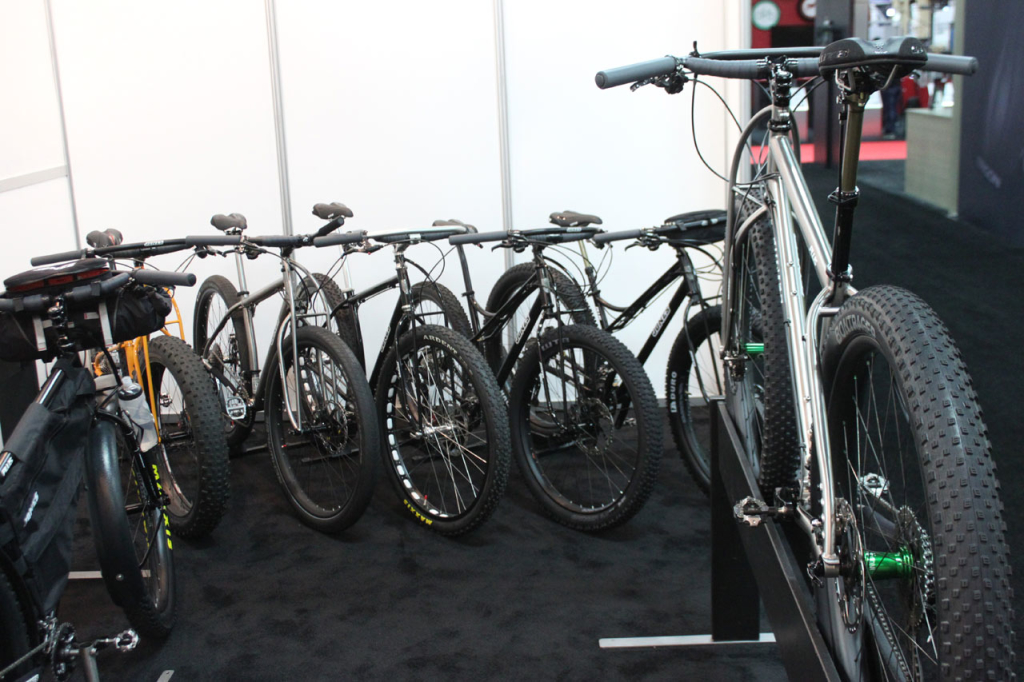 Overview of the bikes