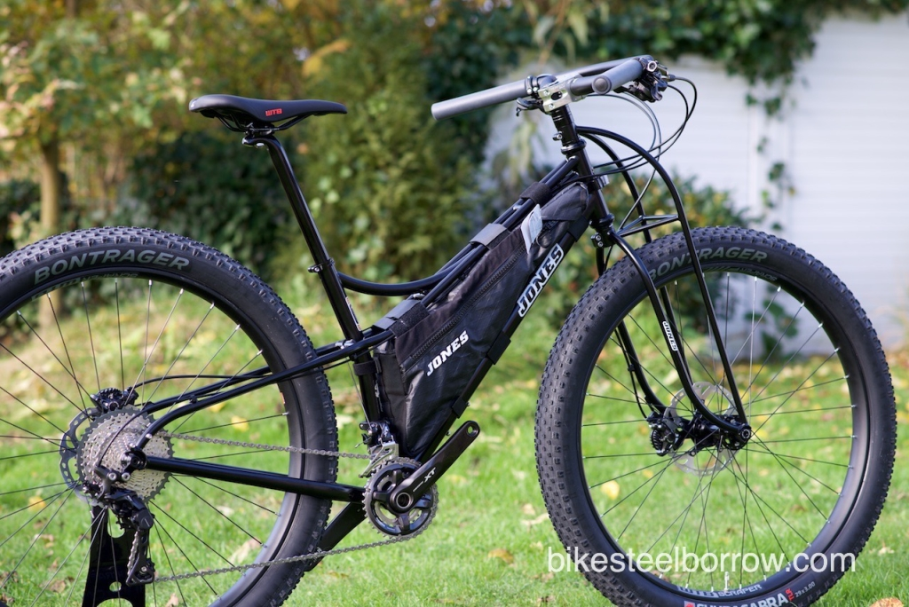 "Jones 23"" Spaceframe Plus, build by Bike, Steel & Barrow."