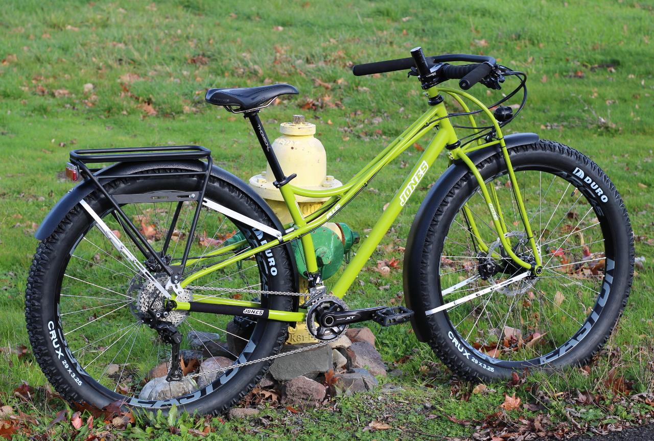 Jones Bikes Blog Recent Builds Fenders And Generator